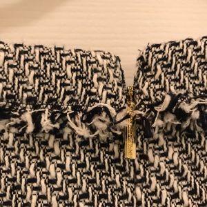 Karl Lagerfeld Dresses - Karl Lagerfeld Paris tweed dress cap sleeve size 6